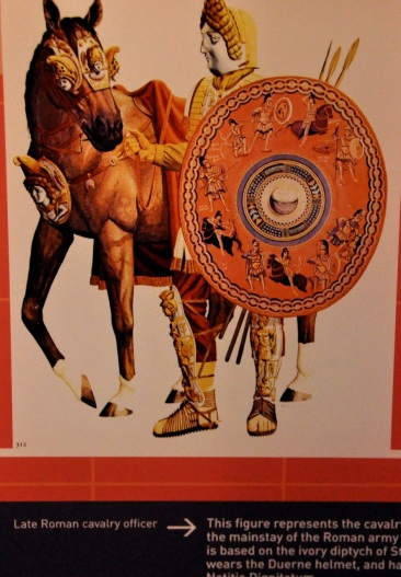 Late Roman calvary officer with armor