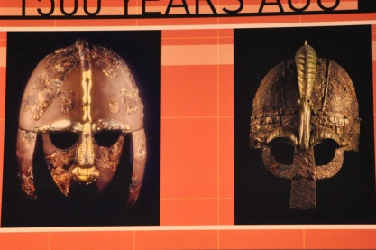 Viking helmets found in Britain, from 600 AD