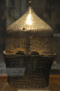 Turkish helmet, late 1400's