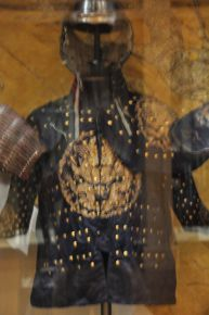 "Early Qing Dynasty ""brigandine"" armor, 1600's"