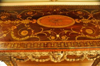 Chippendale inlay