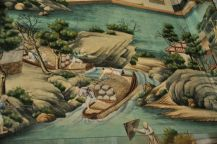 Detail of Chinese wallpaper