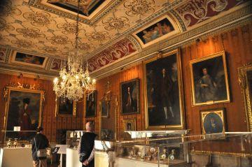 Porcelain display room