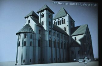 The Norman Minster, 1100 AD
