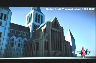 Gothic north transept