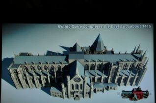 Gothic 'Quire' completes east end