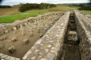 Roman fort granary