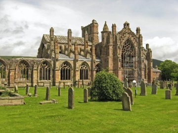 Melrose Abbey, internet picture