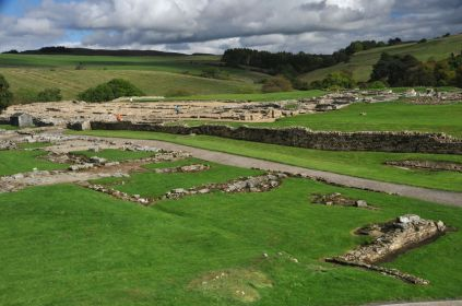 The Roman ruins of Vindolanda