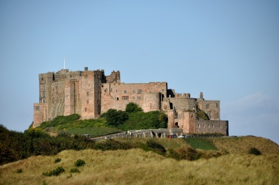 Bamburgh Castle, entrance