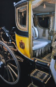 Detail of the coach