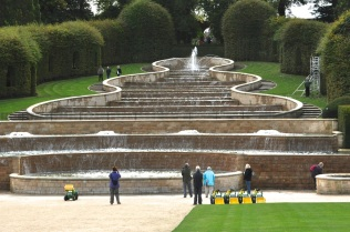 Alnwick Garden fountain, bottom
