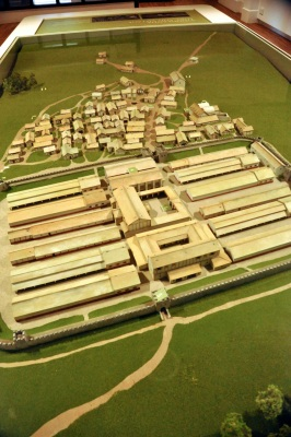 A model of Vindolanda (and its associated village), 213-276 AD