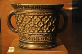 The Infirmary Mortar, bronze, 1308