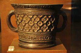 The Infirmary Mortar, bronze, 1308