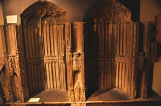 The surviving (there were 3) portable shrine dedicated to St. William of York
