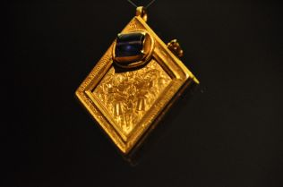The Middleham Jewel, the finest piece of medieval gold-working found in England, 1450 - 1500
