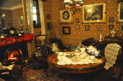 The Victorian Parlour, about 1870.