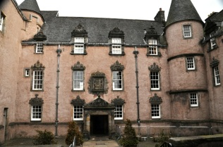 Facade of Argyll's Lodging