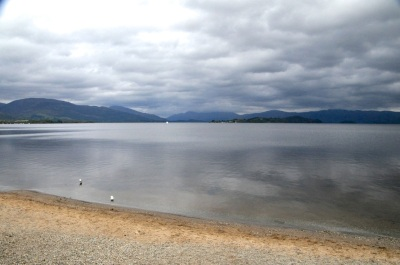 The southern end of Loch Lomond