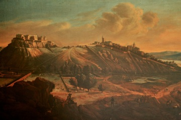 Stirling Castle and the city of StirlingStirling