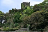 At the foot of Dunollie Castle