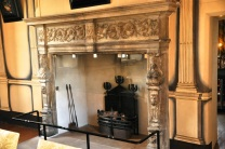 High Dining Room Fireplace, 1630