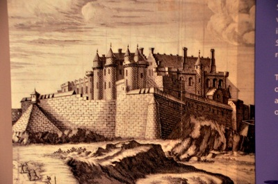 Drawing of Stirling Castle, 1671
