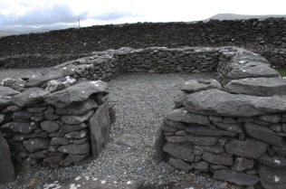 Oratory walls at the Reask Monastic Site