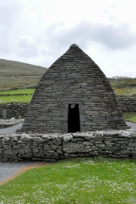 The Gallarus Oratory, front