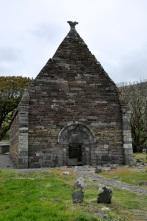 The Kilmakedar Church (the roof is missing)