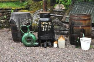 Molly's poitin (whiskey) still