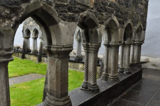 Detail of Ennis Friary cloister