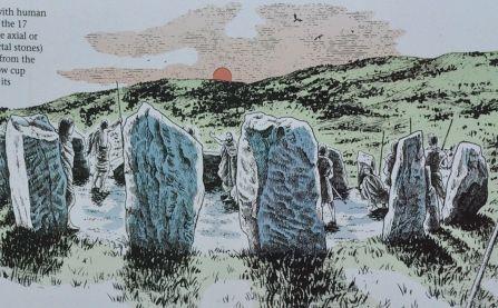 Presumed ceremonial role marking the winter solstice