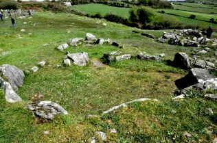 fulacht fiadh and huts, with Drombeg stone circle