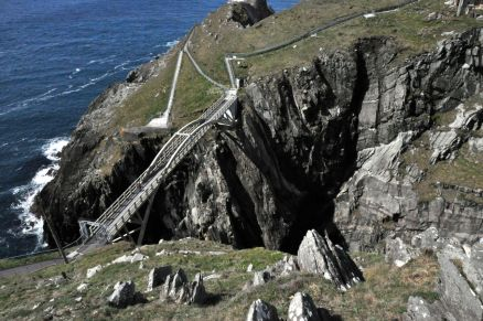 Bridge to the Mizen Head Signal Station