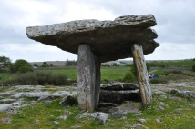 The Poulnabrone Portal Tomb (entrance)