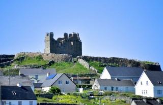 The ruins of O'Brien's Castle