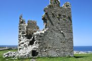 The ruins of O'Brien's Castle