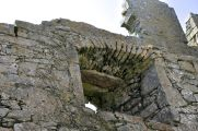 Tower window of O'Brien's Castle; thick walls!