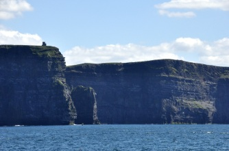 The Cliffs of Moher, from below