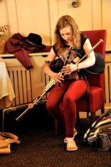 Tara Howley on the Irish pipes