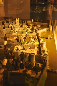 Model of Limerick and King John's Castle, 1535