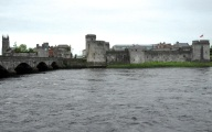 King John's Castle from across the River Shannon