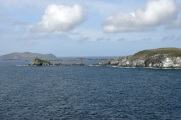 Slea Head, with Great Blasket Island in the distance
