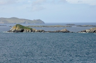 Great Blasket Island in the background