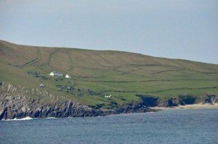 Deserted homes on Great Blasket Island