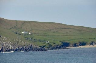 Deserted homes on Great Blasket Island