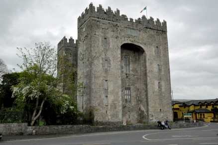 Back of Bunratty Castle