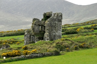 Ruined tower house